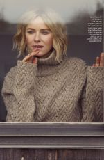 NAOMI WATTS in F Magazine, November 2019