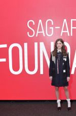 NATALIA DYER at Sag-aftra Foundation Conversations: Stranger Things in New York 11/25/2019