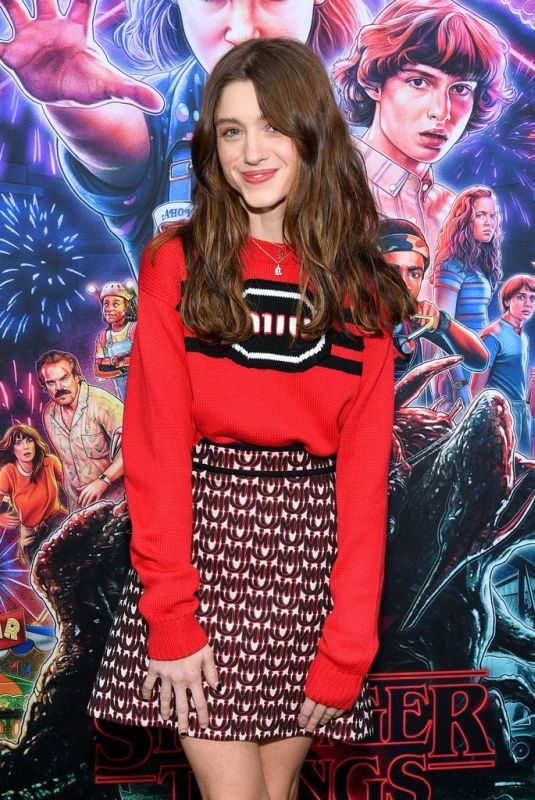 NATALIA DYER at Stranger Things, Season 3 Screening in New York 11/11/2019