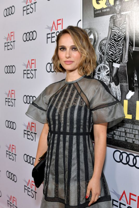 NATALIE PORTMAN at Queen & Slim Premiere at AFI Fest 2019 in Hollywood 11/14/2019