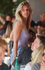 NATASHA OAKLEY at Il Pastaio in Beverly Hills 11/14/22019