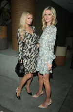 NICKY and PARIS HILTON at 1 Hotel West Hollywood Opening in Los Angeles 11/05/2019