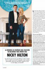 NICKY HILTON in Hola! Magazine, December 2019/January 2020