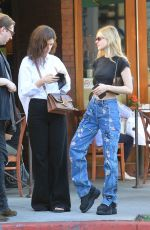 NICOLA PELTZ Out for Lunch in Los Angeles 11/08/2019