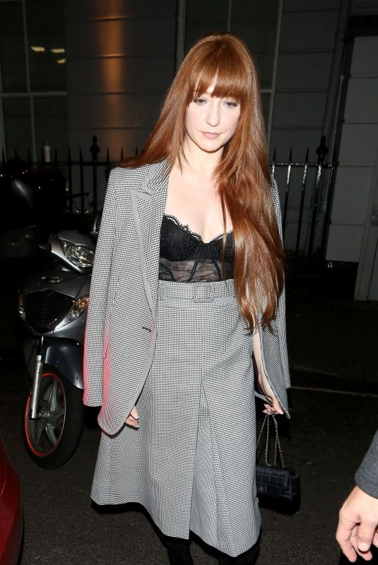 NICOLA ROBERTS at Kimberley Walsh's Birthday Party in London 11/22/2019