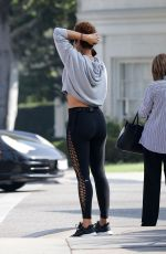 NICOLE MURPHY Heading to a Gym in Beverly Hills 11/07/2019