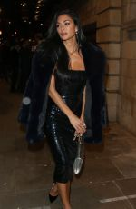 NICOLE SCHERZINGER Arrives at Juliet Press Night in London 11/20/2019