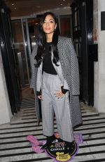 NICOLE SCHERZINGER at BBC Studios in London 11/12/2019