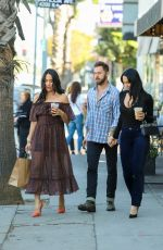NIKKI and BRIE BELLA Out for Lunch in Los Angeles 11/11/2019