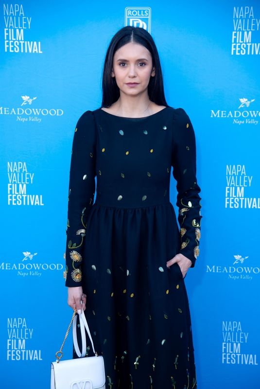 NINA DOBREV at Run This Town Screening at Napa Valley Film Festival 11/17/2019