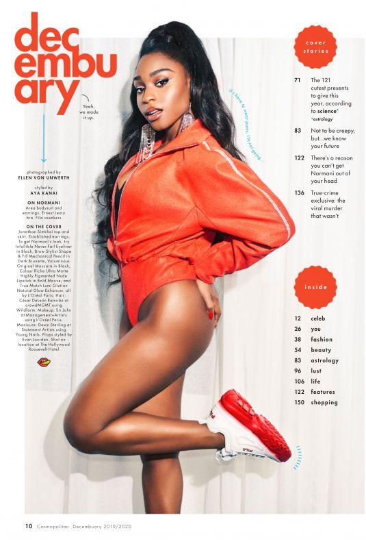 NORMANI KORDEI in Cosopolitan Magazine, December 2019