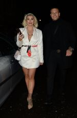 OLIVIA BUCKLAND Arrives at Annabel