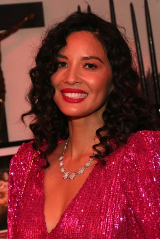 OLIVIA MUNN at Day of the Dead Celebration in Hollywood 11/02/2019
