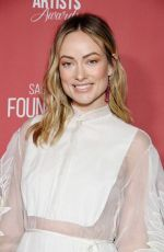 OLIVIA WILDE at 4th Annual Patron of the Artists Awards in Beverly Hills 11/07/2019