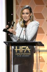 OLIVIA WILDE at Hollywood Film Awards in Beverly Hills 11/03/2019