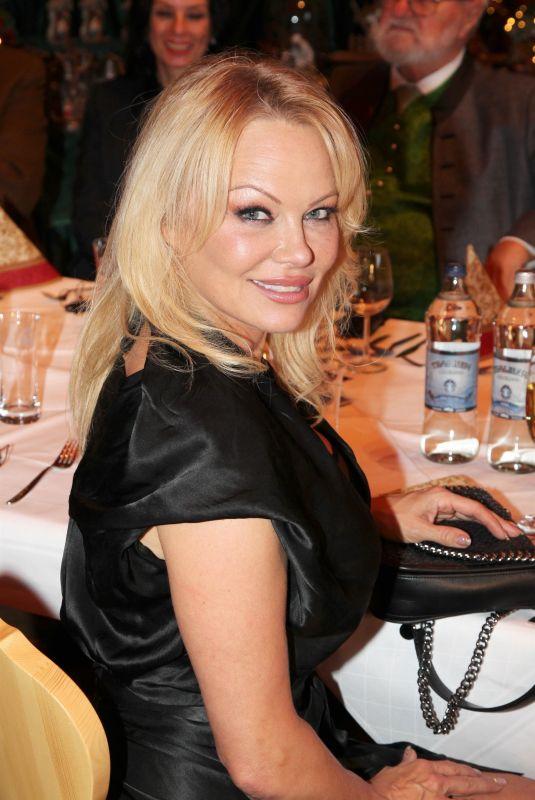 PAMELA ANDERSON at Pre-opening of the Christmas Market 11/12/2019