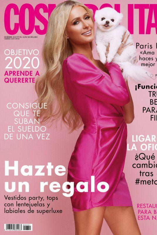 PARIS HILTON in Cosmopolitan Magazine, Spain December 2019