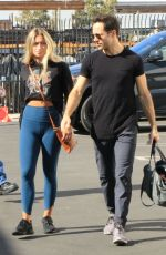 PASHA PASHKOV and JENNA JOHNSON Arrives at a Dance Studio in Los Angeles 11/08/2019