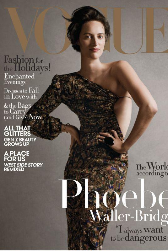 PHOEBE WLLER-BRIDGE in Vogue Magazine, December 2019