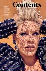 PINK in Billboard Magazine, November 2019