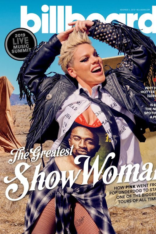 PINK in Billboard Magazine, November 2019
