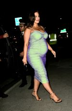 Pregnant ASHLEY GRAHAM Arrives at Cfda & Vogue Fashion Fund Awards in New York 11/04/2019
