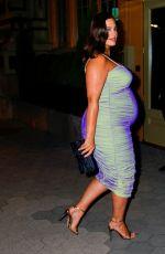 Pregnant ASHLEY GRAHAM at Cfda & Vogue Fashion Fund Awards in New York 11/04/2019