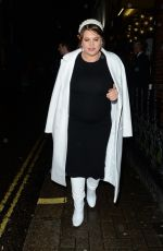 Prenant NADIA ESSEX at Club 64 Launch Party in London 11/27/2019