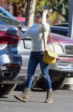 RACHAEL LEIGH COOK Out Shopping in Studio City 11/23/2019