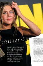 REESE WITHERSPOON and JENNIFER ANISTON in Grazia Magazine, UK November 2019