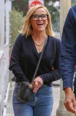 REESE WITHERSPOON Out in Brentwood 11/06/2019