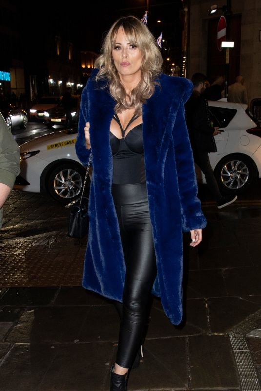 RHIAN SUGDEN at Mirror Image Fashion Event in Manchester 11/23/2019