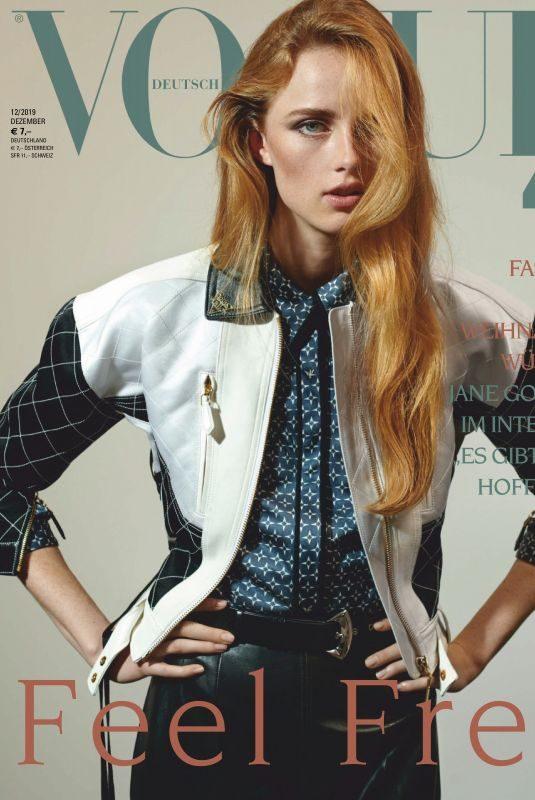 RIANNE VAN ROMPAEY in Vogue Magazin, Germany December 2019