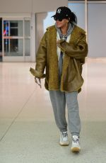 RIHANNA at Airport in Teaneck in New Jersey 11/29/2019