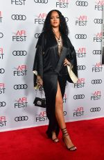 RIHANNA at Queen & Slim Premiere at AFI Fest 2019 in Hollywood 11/14/2019