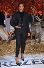 ROCHELLE HUMES at Frozen 2 Premiere in London 11/17/2019