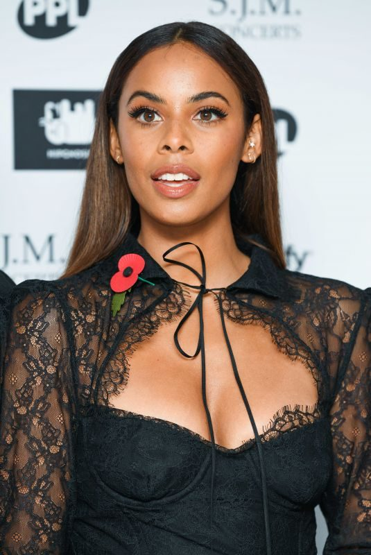 ROCHELLE HUMES at Music Industry Trusts Award in London 11/04/2019
