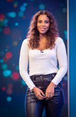 ROCHELLE HUMES at This Morning TV Show in London 11/14/2019