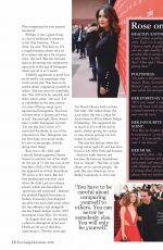 ROSE BYRNE in Fairlady Magazine, December 2019