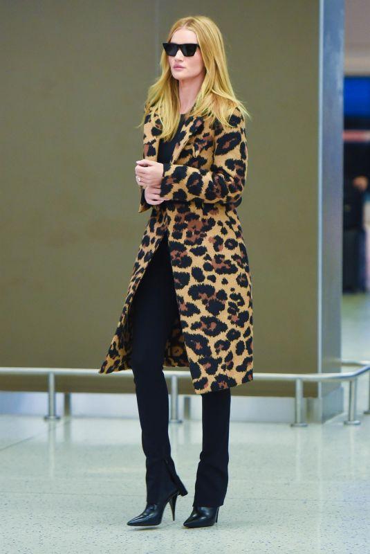 ROSIE HUNTINGTON-WHITELEY at JFK Airport in New York 11/10/2019