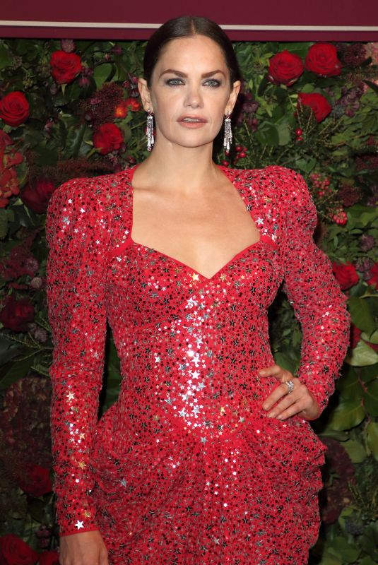 RUTH WILSON at 65th Evening Standard Theatre Awards in London 11/24/2019