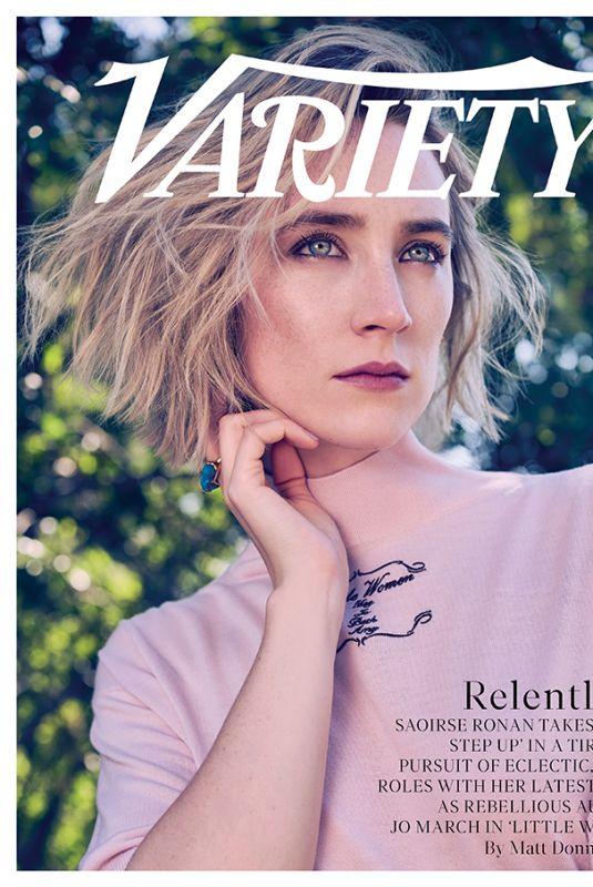 SAOIRSE RONAN for Variety Magazine, December 2019
