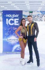 SARAH LOMBARDI - Holiday on Ice: Supernova Photocall 11/25/2019