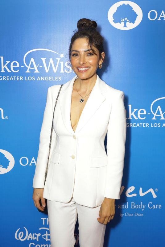 SARAH SHAHI at Wish Gala in Beverly Hills 11/20/2019
