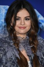 SELENA GOMEZ at Frozen 2 Premiere in Hollywood 11/07/2019
