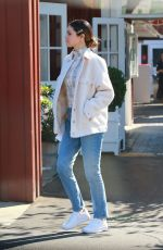SELENA GOMEZ Out at Brentwood Country Mart 11/05/2019
