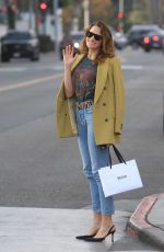 SHANTEL VANSANTEN Out for Lunch in Beverly Hills 11/13/2019