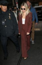 SIENNA MILLER Arrives at Today Show in New York 11/19/2019