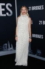 SIENNA MILLER at 21 Bridges in New York 11/19/2019
