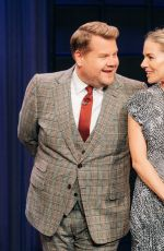 SIENNA MILLER at Late Late Show with James Corden 11/21/2019